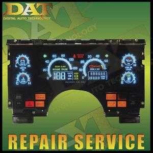 90 91 92 93 Buick Reatta Riviera Digital Cluster REPAIR