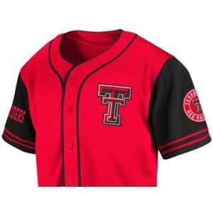 Texas Tech Red Raiders Colosseum NCAA Rally Baseball Jersey