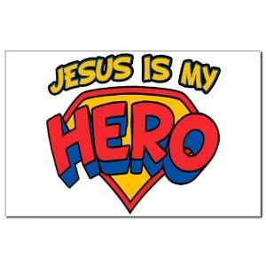 Mini Poster Print Jesus Is My Hero
