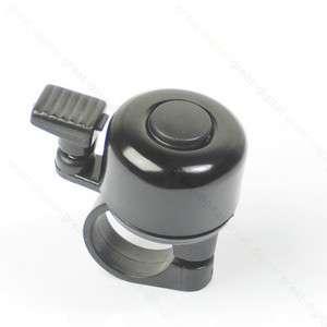 Metal Ring Handlebar Bell Sound for Bike Bicycle Black