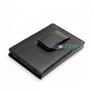 LEATHER CASE COVER FOR  KINDLE TOUCH WIFI/3G WITH BUILT IN LIGHT