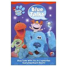 Blues Clues Blue Talks DVD   Pbs Paramount