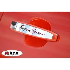2012 Chevrolet Camaro Super Sport Door Handle Plates Trims Automotive