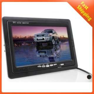 TFT LCD Digital Car Rear View Monitor Remote & Stand
