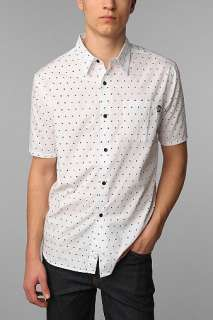 Stussy Polka Dot Short Sleeved Shirt   Urban Outfitters