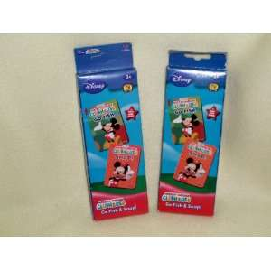Disney Mickey Mouse Clubhouse Card Games (Sold As a Set) Toys & Games