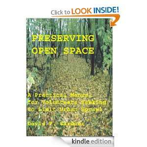 Preserving Open Space David Gardner  Kindle Store