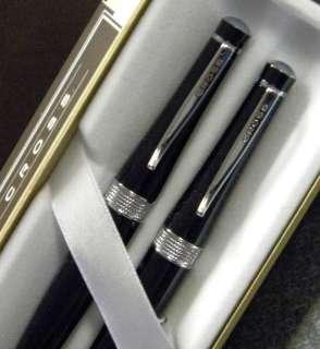 AT Cross 2010 Limited Vienna BLACK Pen & Pencil Set