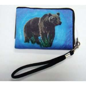 Grizzly Bear Camera Bag Cell Phone Case
