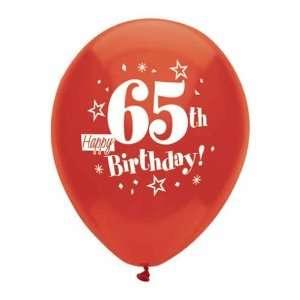 Happy 65th Birthday Balloons: Toys & Games