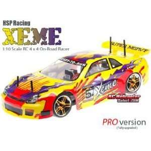 HSP XEME 94103 PRO 110 Electric 4WD RC Touring Car RTR
