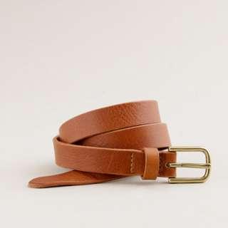 Skinny leather belt   belts   Womens accessories   J.Crew