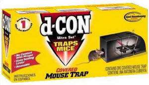 CON 1920000027 ULTRA SET COVERED MOUSE TRAPS TRAP 019200000956