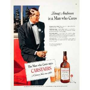 1951 Ad Carstairs Brothers Distilling Blended Whiskey Doug