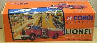 Corgi 52402 MACK B PUMPER   LIONEL CITY FIRE DEPT.