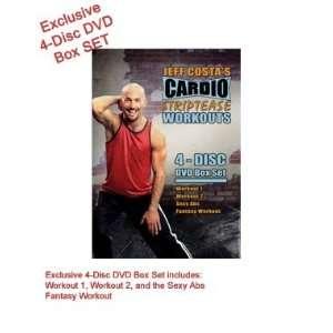 Cardio Striptease Workouts   4 disc DVD Box Set