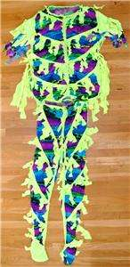 ONE OF A KIND RANDY SAVAGE RING WORN WWF WWE WCW SHIRT & PANTS OUTFIT