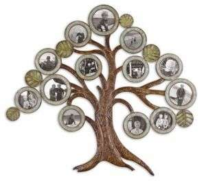 Maple Tree FAMILY Tree Photo Frame WALL ART