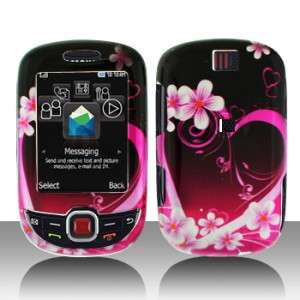 Purple Love Hard Case Cover for T Mobile Samsung ) Smiley T359