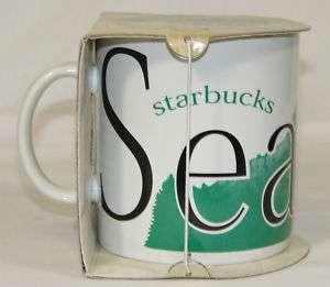 NEW Vintage STARBUCKS Coffee Cup, SEATTLE City Mug 1994