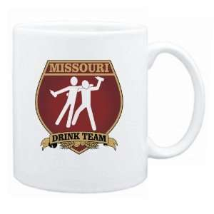 Missouri Drink Team Sign   Drunks Shield  Mug State
