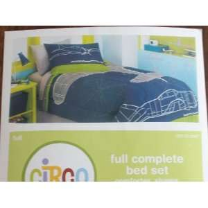 Circo Full Complete Bed Set AIRPLANES
