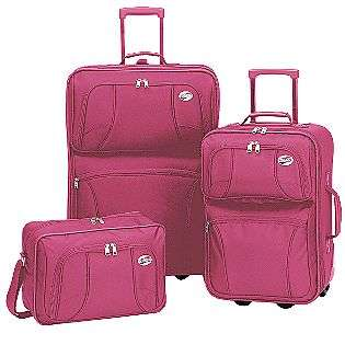 Piece Luggage Set   Pink  American Tourister For the Home Luggage