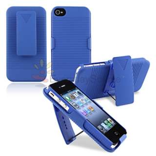 Slide Series Case Belt Clip Swivel Holster with Stand for iPhone 4G 4S