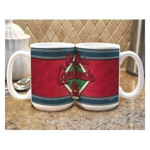 St. Louis Cardinals MLB Coffee Mug   Felt Style Sports