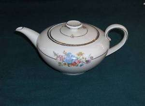 Tirschenreuth China Germany Multifloral Teapot Lid RARE