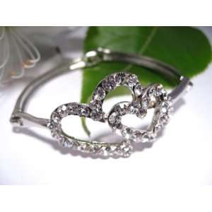 Fashion Plating Platinum and Diamond Bracelet br10025