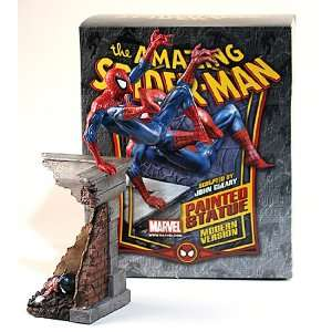 Spider Man Statue Signed by Stan Lee by Bowen Designs Toys & Games
