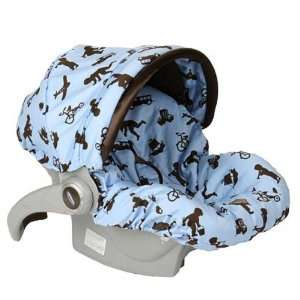 Little Boy Blue Infant Car Seat Cover Baby