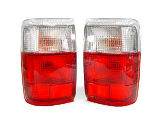 1990 1995 TOYOTA 4RUNNER EURO RED/CLEAR TAIL LIGHTS SR5