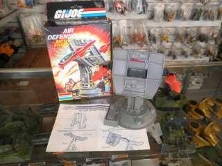 1985 Vintage GI Joe Air Defense 100% Complete + Box MIB