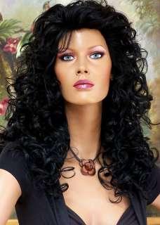 Darkest Brown almost Black Hair + Bangs High Quality Wigs #2