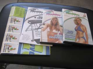 Malibu Pilates Chair Fitness Program by Guthy Renker With 2 DVDs