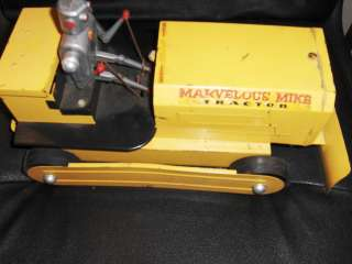 MARVELOUS MIKE TRACTOR METAL 1950S SAUNDERS JAPAN CHINA USA