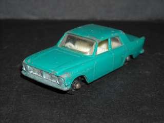 Lesney Matchbox No 33 Ford Zephyr 6 Light Blue Die Cast