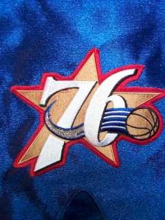 AUTHENTIC Philadelphia 76ers THROWBACK nba Basketball Jersey Shorts