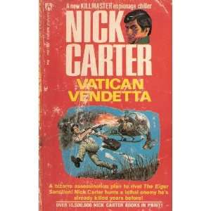 Vatican Vendetta Nick Carter Books