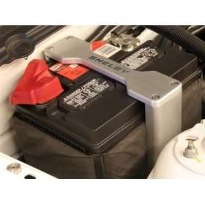 SHELBY 2005 2009 FORD MUSTANG BILLET BATTERY BRACKETS