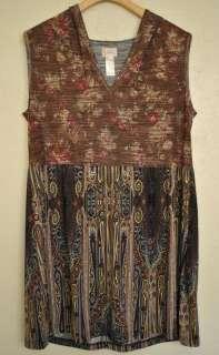TRACY PORTER AnThRoPoLoGiE HOODY DRESS sz. 12   14 L Large Womens