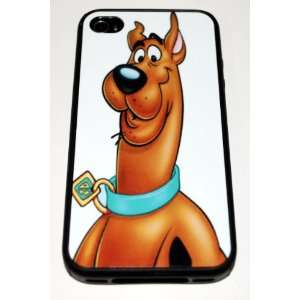 Black Silicone Rubber Case Custom Designed Scooby Doo iPhone Case for