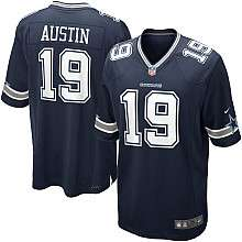 Youth Nike Dallas Cowboys Miles Austin Game Team Color Jersey (8 20
