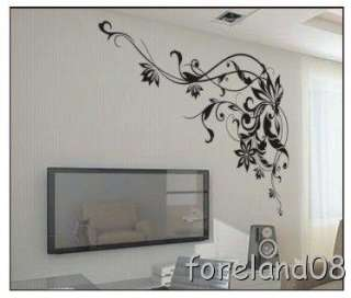 Flowers Wall Stickers Wallpaper Room/Home/Store Decoration
