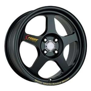17x7 Speedy Race Mode (Matte Black) Wheels/Rims 4x100