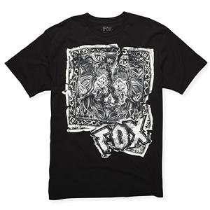 Fox Racing Bandanna Premium T Shirt   Large/Black