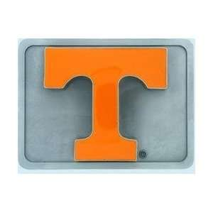 College Trailer Hitch Cover   Tennessee Volunteers Sports