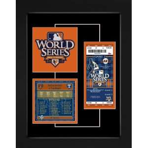 San Francisco Giants 2010 World Series Champions Replica Ticket